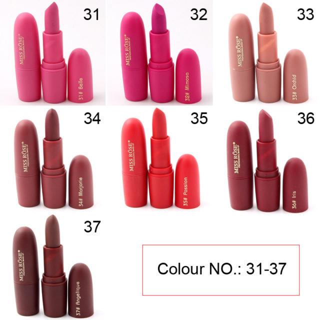 Matte Professional Sexy Long Lasting Lipstick
