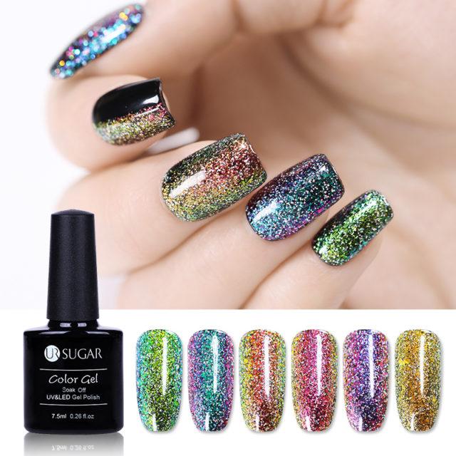 Chameleon Holographic Nail Gel