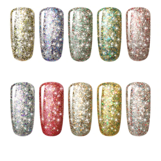 Nail Polish for Women with Starry Sky Effect