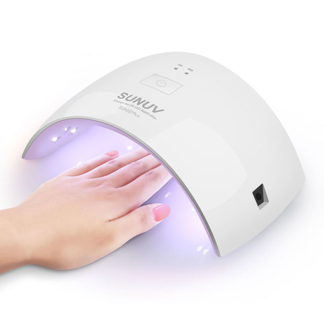 36W UV LED Nail Dryer Lamp with 30 / 60 s
