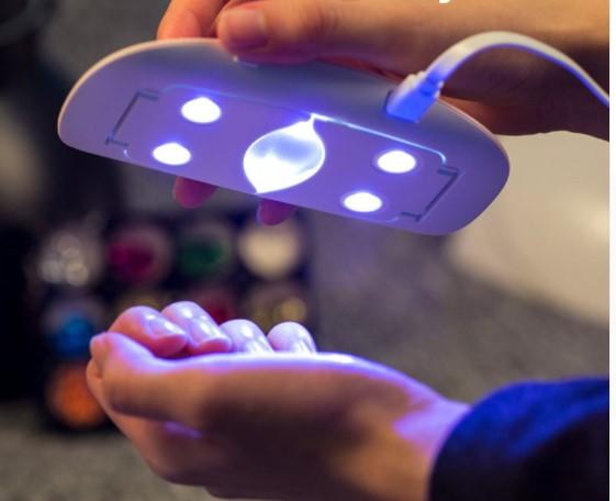 Pocket UV LED USB Nail Dryer