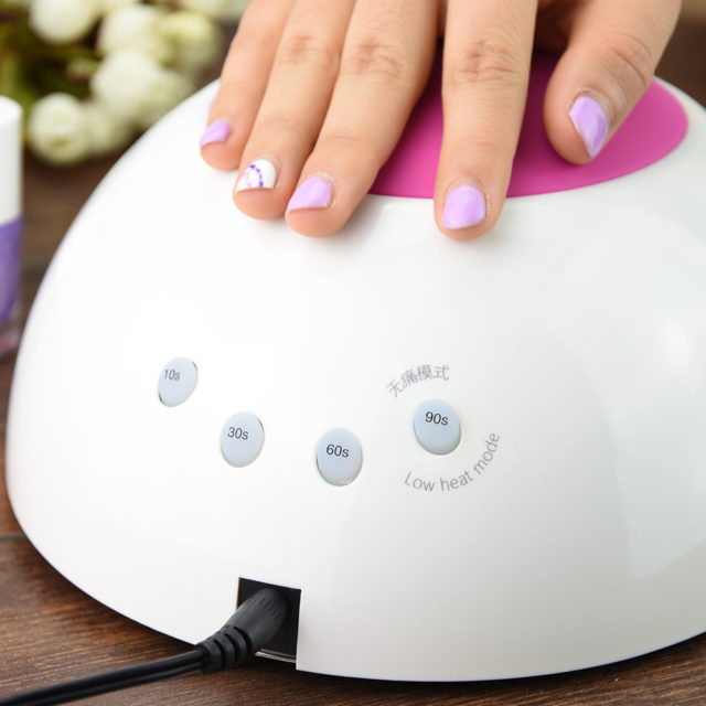 UV LED 48W Plastic Nail Dryer