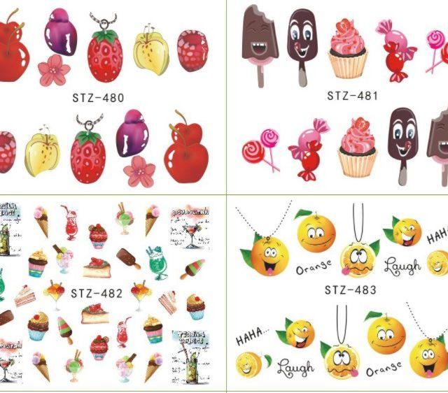 Yummy Nail Stickers