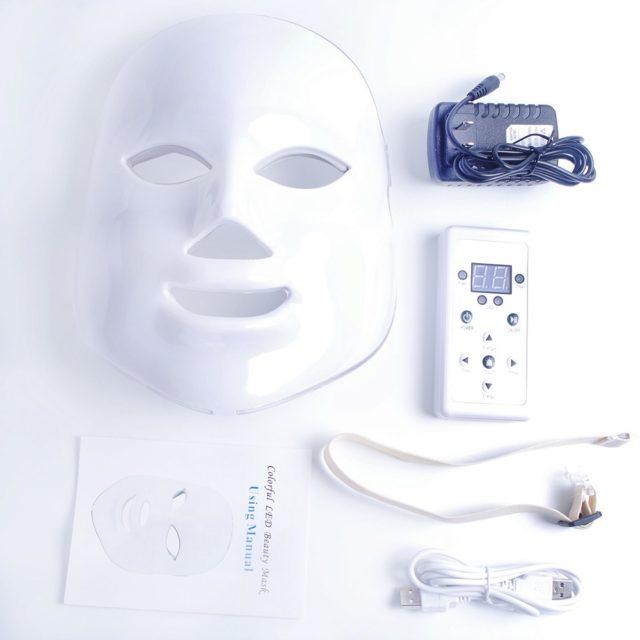 LED Light Skin Rejuvenation Face Care Mask