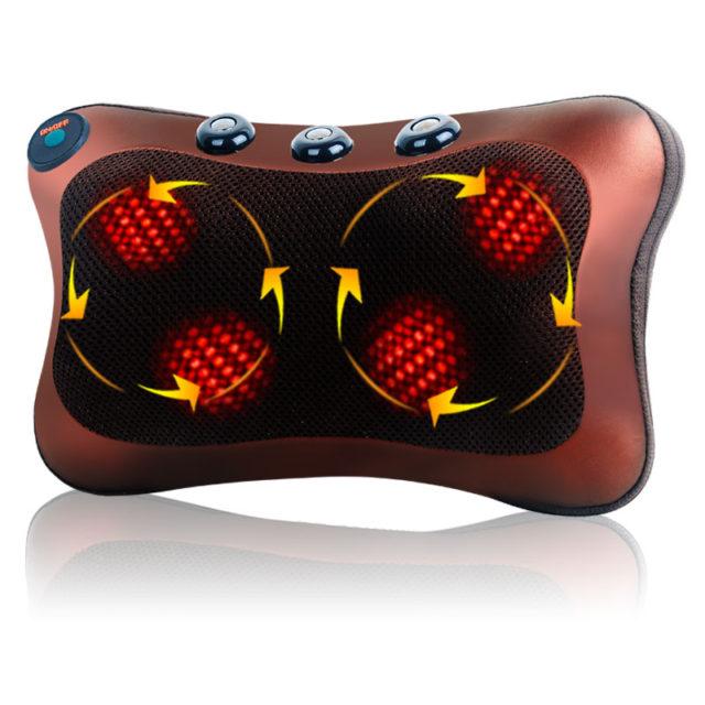 Electric Car Neck Massager Pillow