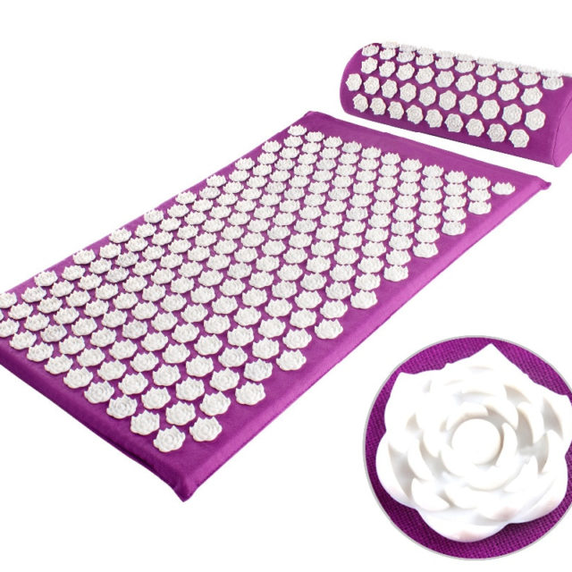 Acupuncture Stress Relieve Mat with Pillow for Full Body