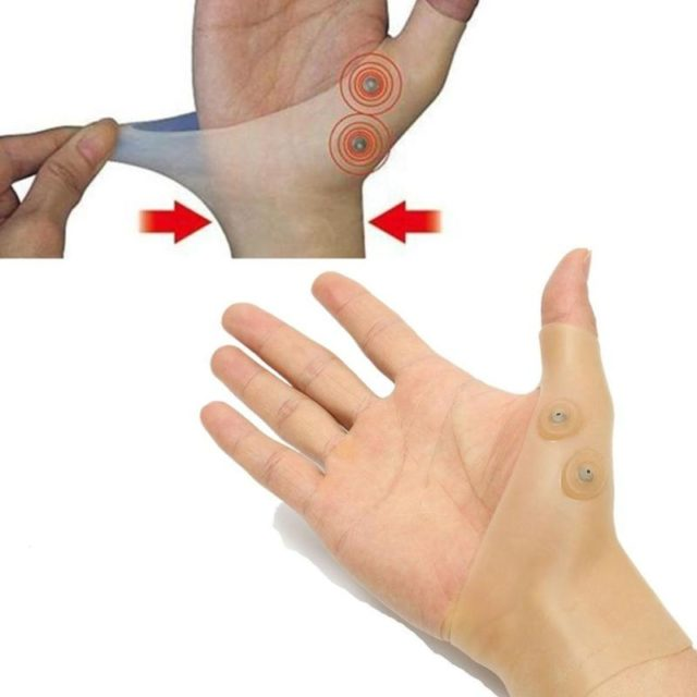 Magnetic Pain Relief Therapy Gloves