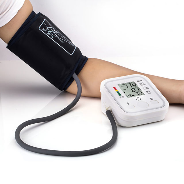 Health Care Upper Arm Blood Pressure Monitor