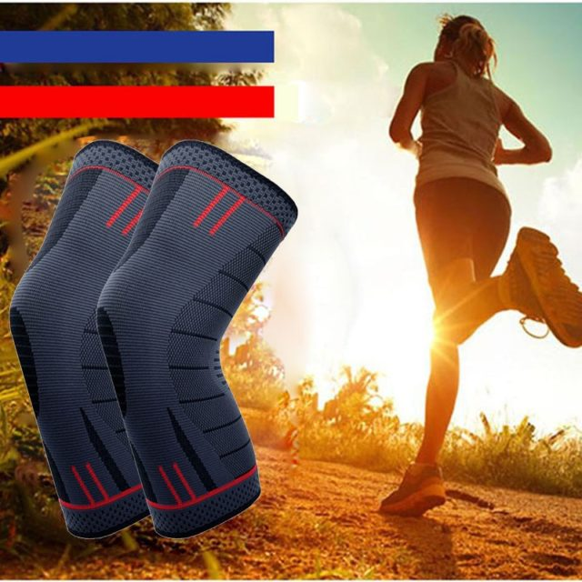 Breathable Knee Pad with Anti-slip Silicone Strips
