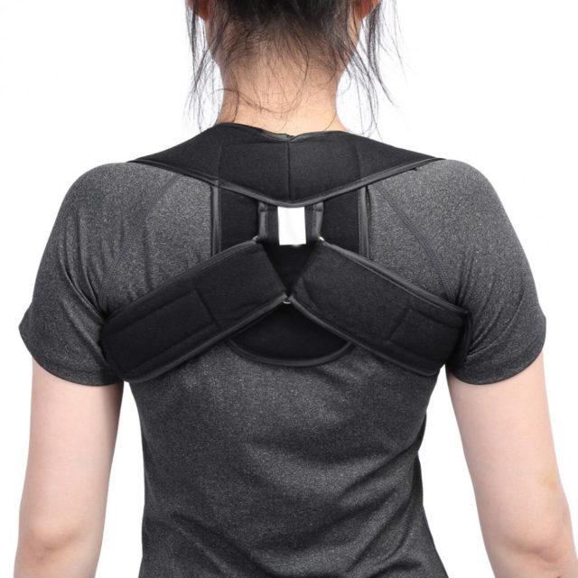 Adjustable Upper Back Shoulder Posture Corrector Support for Adult and Child
