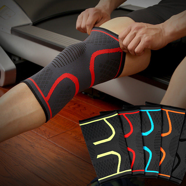 Elastic Nylon Compression Sports Knee Support