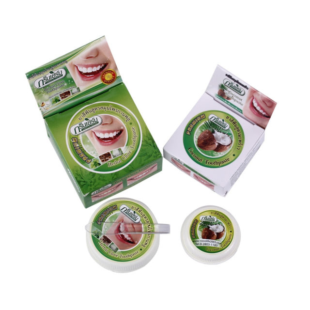 Natural Herbal Whitening Toothpaste 2 pcs Set