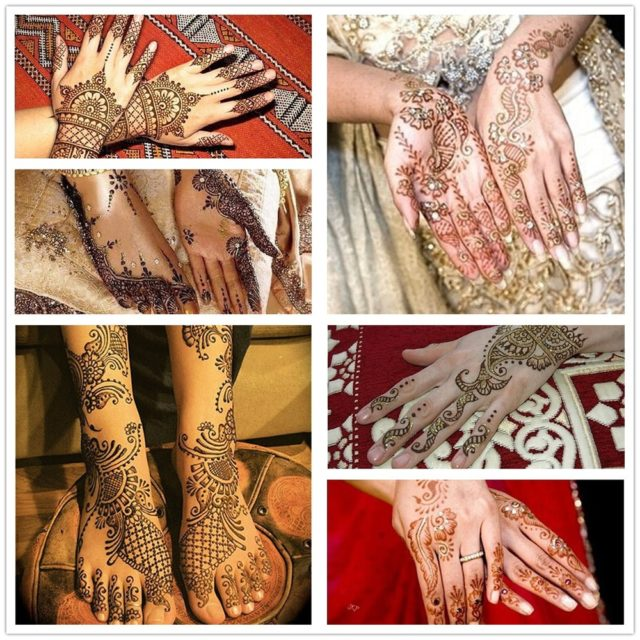 Henna Paste Body Paints