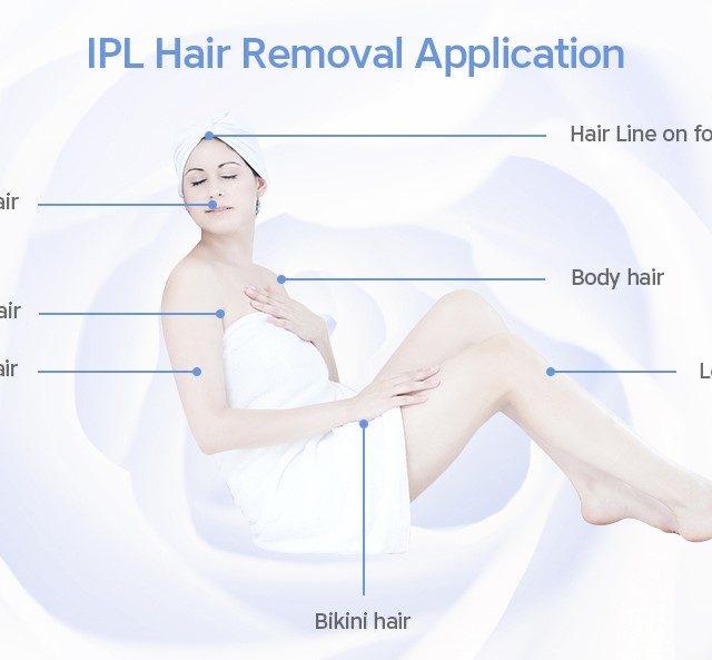 2-In-1 Quartz Laser Hair Remover with Skin Rejuvenation Lamp