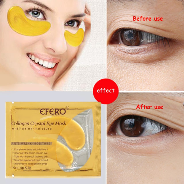 Anti-Wrinkle 24K Collagen Eye Patches 10 pcs Set