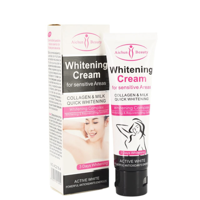 Whitening Cream for Sensitive Areas