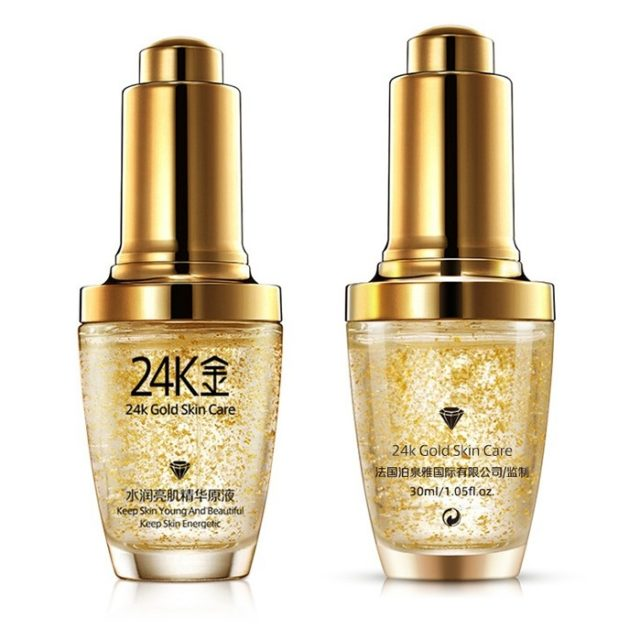 Long-Lasting Moisturizing Lifting 24K Gold Essence Cream