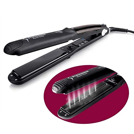 Steam Hair Straightener and Curler