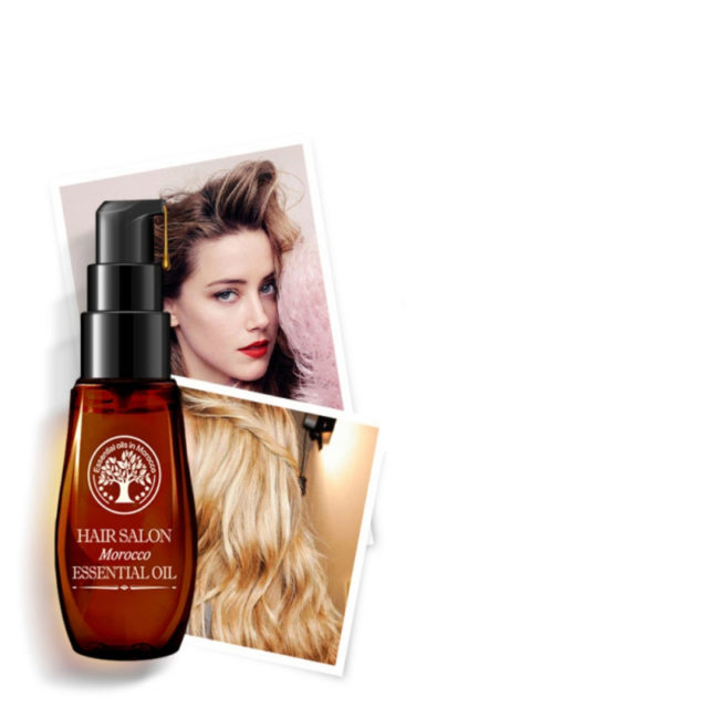 Moisturizing Natural Morocco Oil Mask for Weak and Damaged Hair