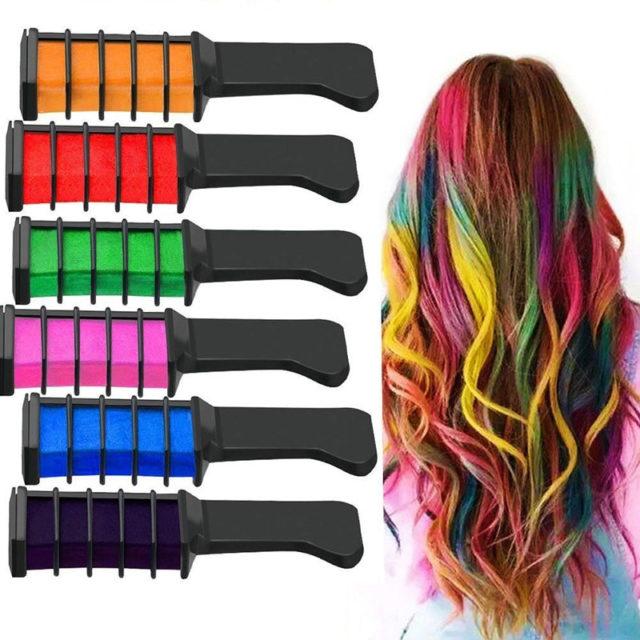 Temporary Hair Dye Combs