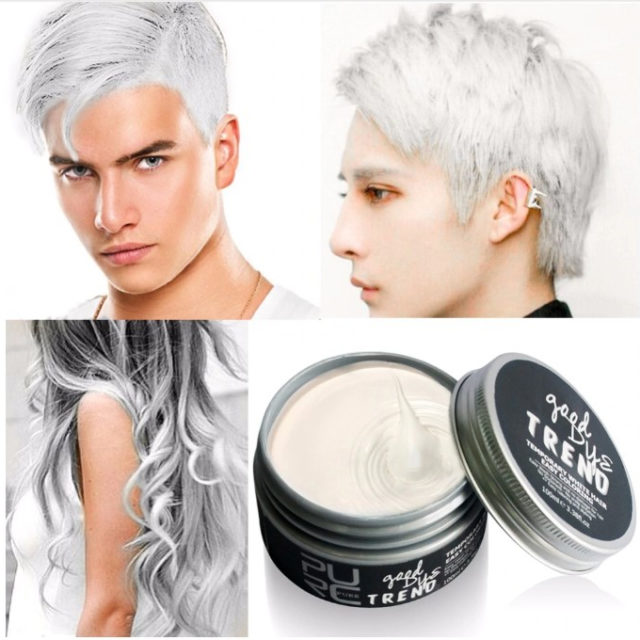 Colored Hair Styling Wax