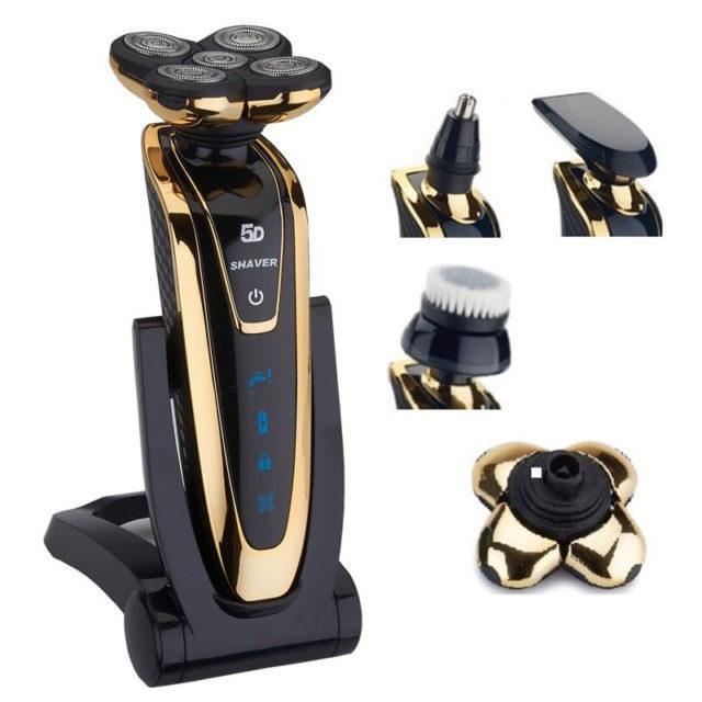 Safe Rechargeable Men's Electric Shaver