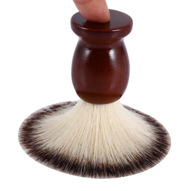 Professional Soft Nylon Facial Shaving Brush