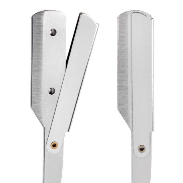 Men's Classic Folding Metal Razor
