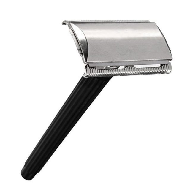Men's Manual Double-Edged Stainless Steel Razor