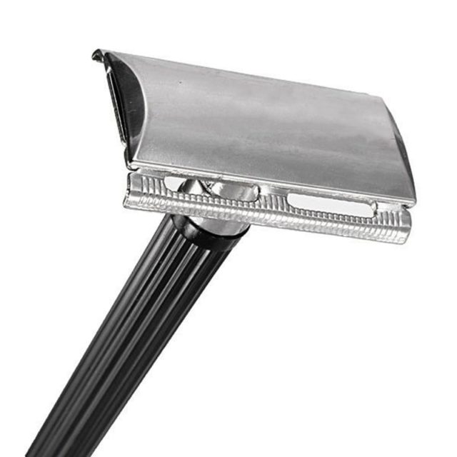 Men's Manual Double-Edged Stainless Steel Razor
