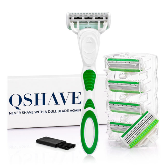 Women's 5 Layers Hair Removal Razor with Cartridges