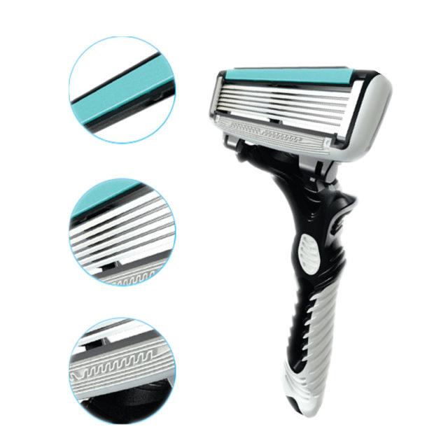 Set 6 pcs Blades Shaving Razors for Men