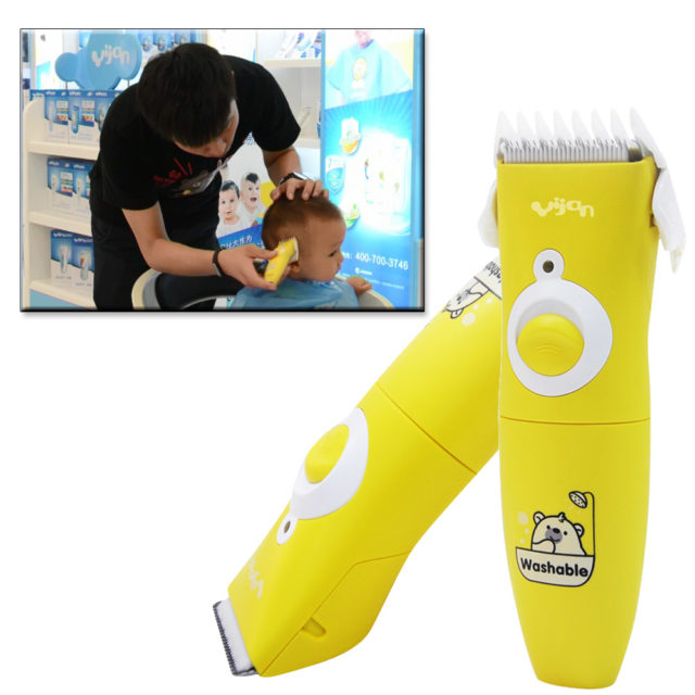 Professional Electric Hair Trimmer for Babies
