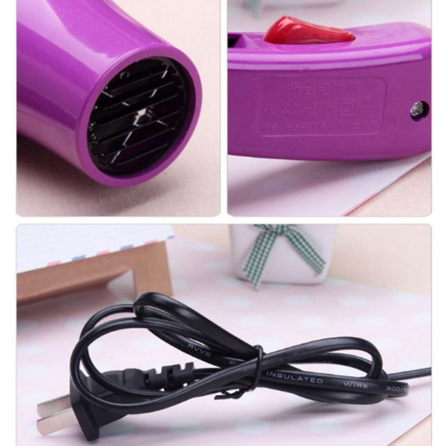Portable Foldable Hair Dryer