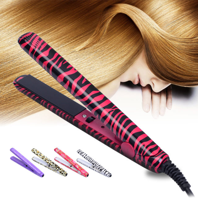 Portable Mini Electronic Ceramic Straightening Iron
