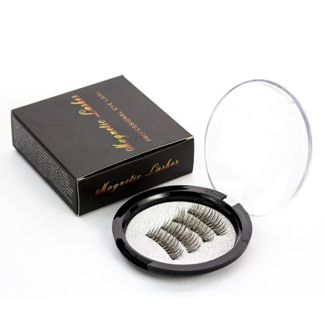 Magnetic False Eyelashes with Applicator