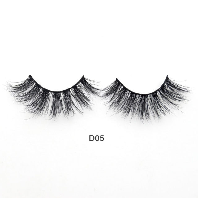 Medium 3D Mink False Eyelashes 2 pcs Set