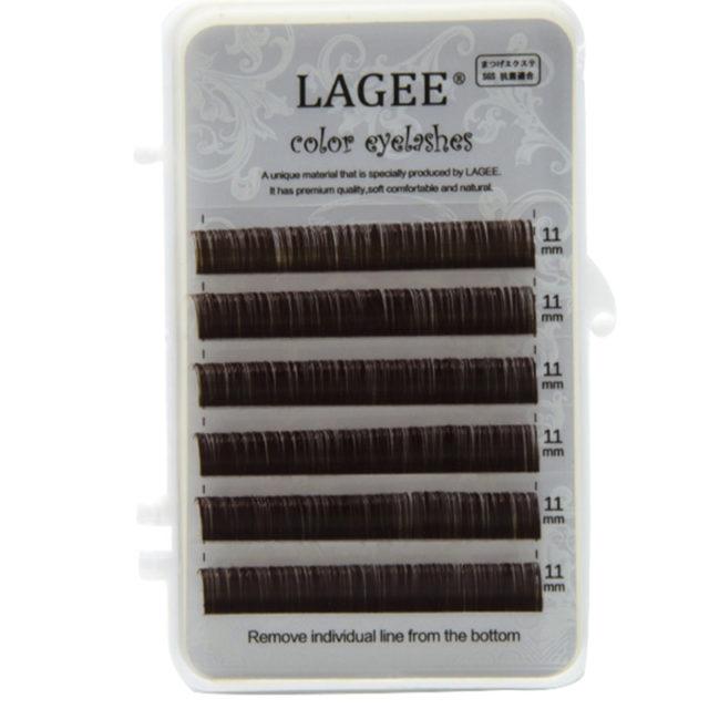 Colorful Soft Natural Individual Eyelashes