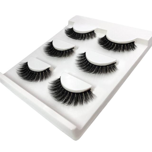 3 Pairs of 3D Thick False Eyelashes