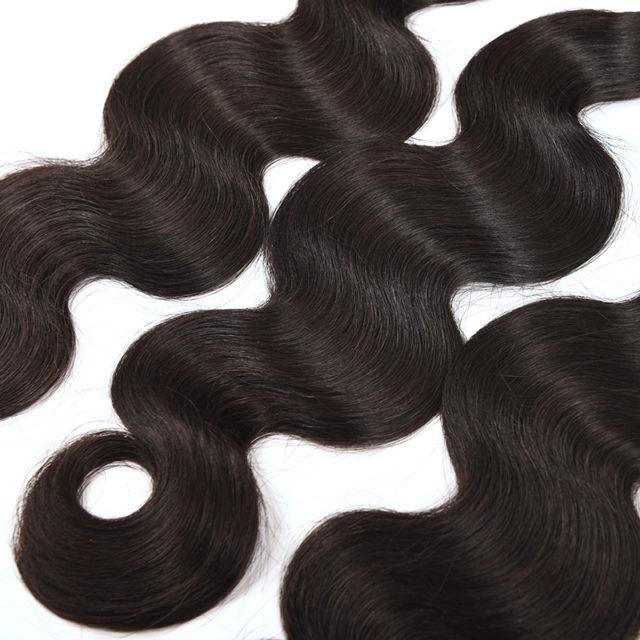 Exquisite Long Wavy Dark Natural Hair Extension