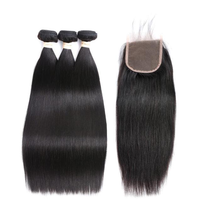Straight Non-Сolored Brazilian Hair