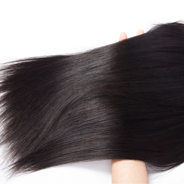 Straight Remy Brazilian Hair Weave