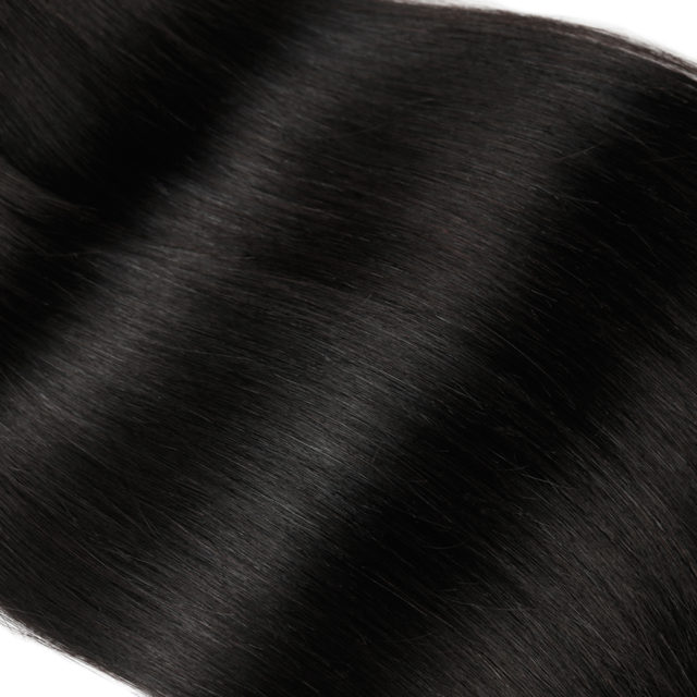 Non-Remy Brazilian Straight Hair Weave