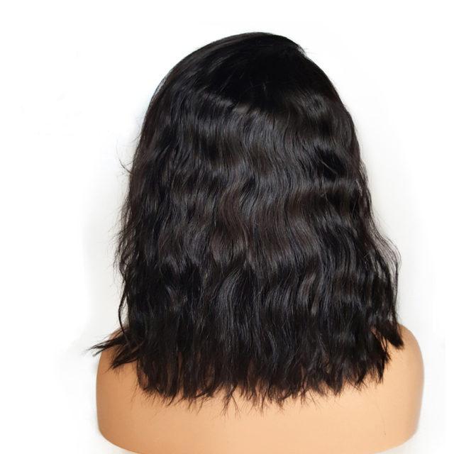 Wavy Bob Human Hair Wig