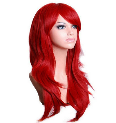 Long Wavy Vivid Color Synthetic Wig