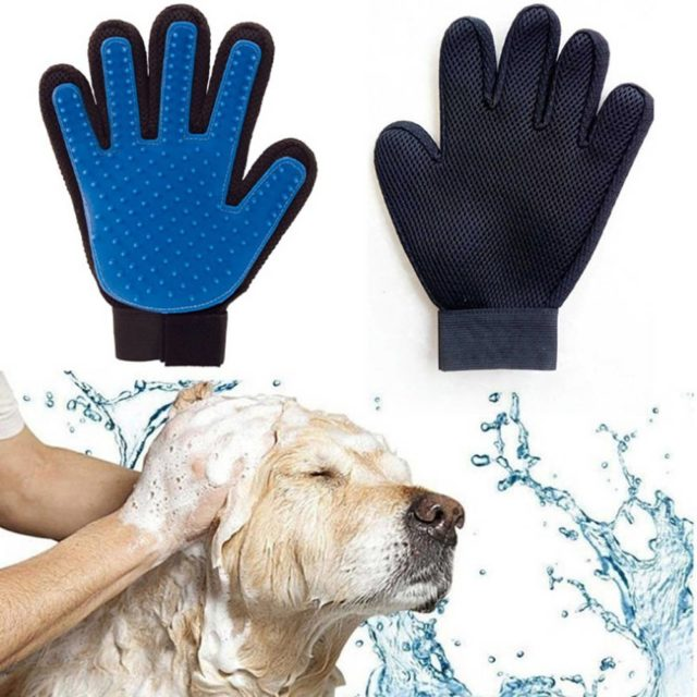 Easy-to-Use Rubber Dog's Grooming Glove