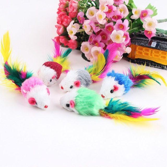 Cat's Feather Toys 10 pcs Set