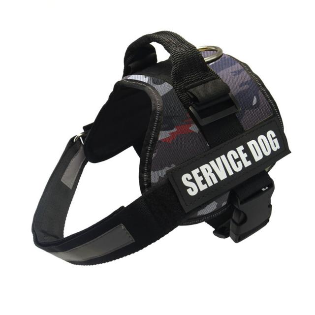 Reflective Harness Service Dog