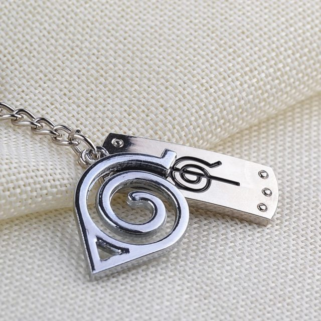 Naruto Themed Metal Keychain