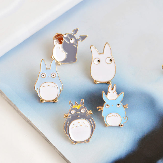 Women's Anime Rabbits Enamel Pins Set